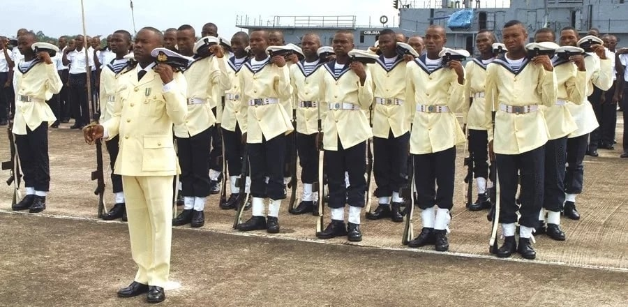 Latest Nigerian Navy Salary Structure Scale & Ranks of